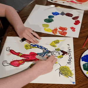 Teach Elementary Homeschool Art with an Online Art Curriculum