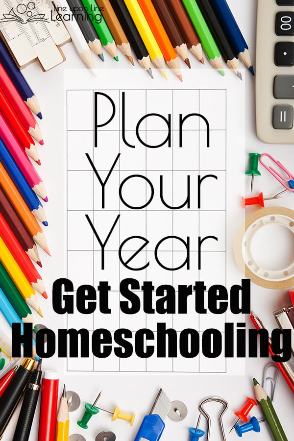 Plan your homeschool year before it begins. Here are some ideas to consider as you get started homeschooling.