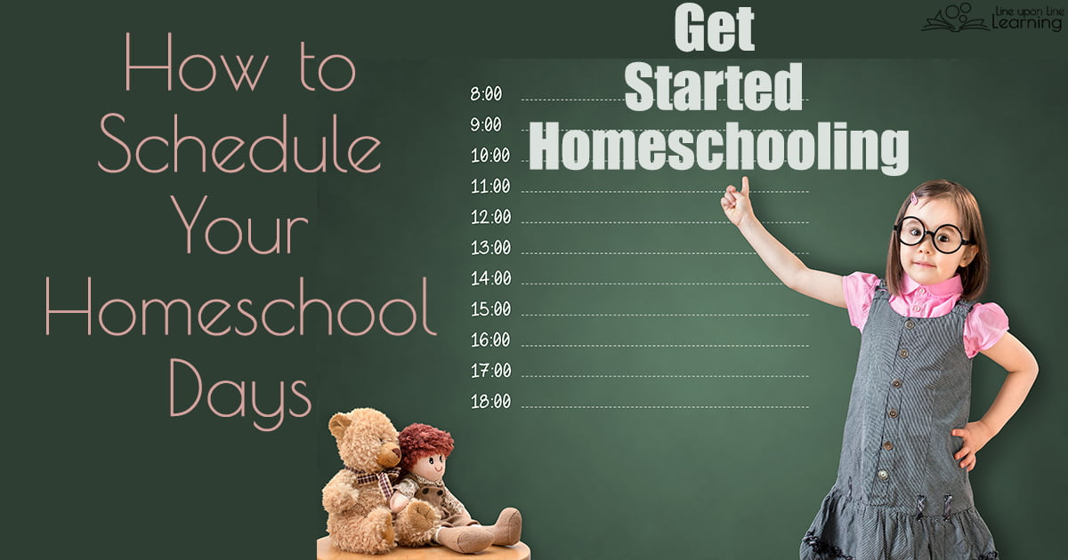 Consider having a blend of a scripted schedule homeschool day, a child-led homeschool schedule, or even an unschool day for your homeschool.
