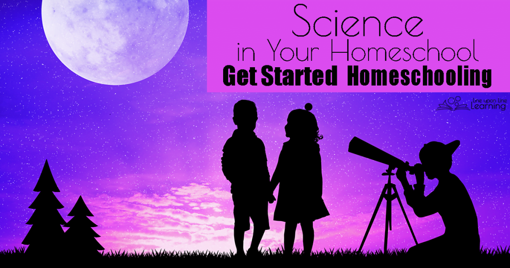 Learning science in your homeschool is a natural part of discovering how the world works.