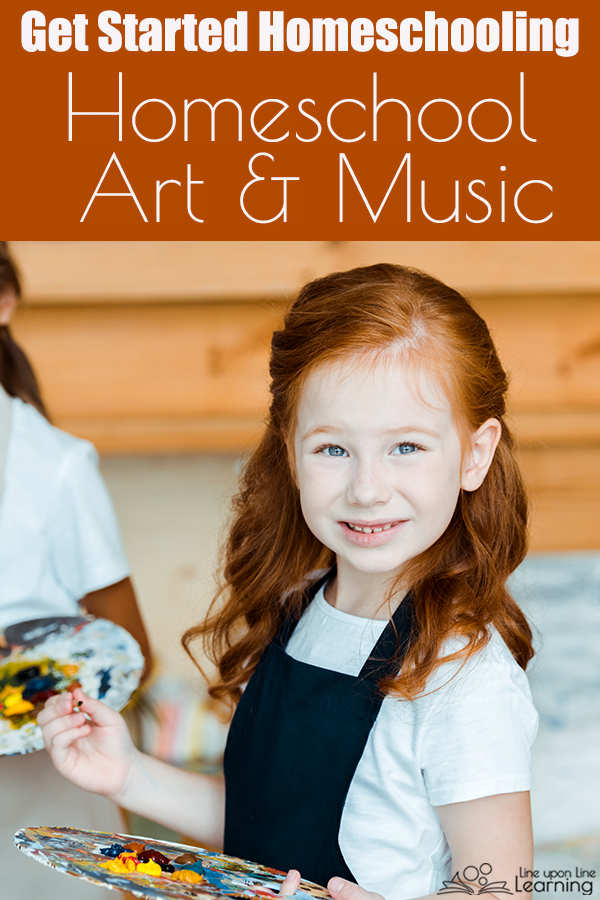 Here are some easy ways to bring art appreciation, music appreciation, and more into your homeschool.