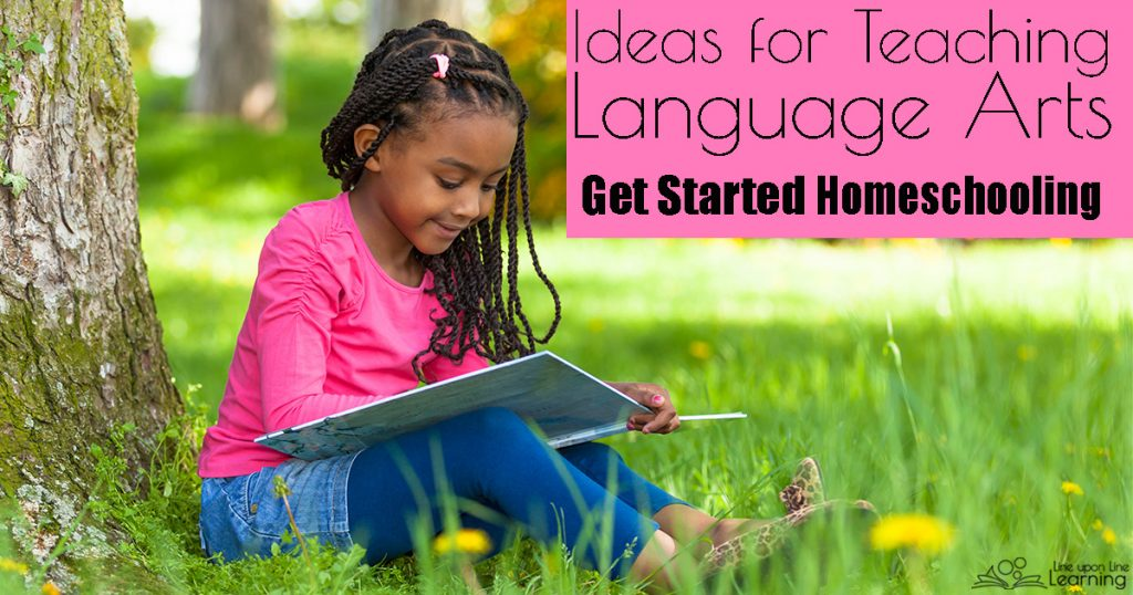 Handwriting, reading, and writing feel like a lot to cover. See ideas on gentle ways to approach teaching language artsin your homeschool!