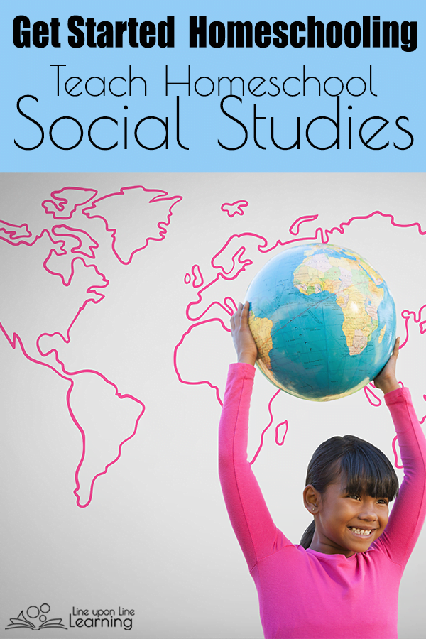 Teach social studies at home with some of these great history, geography, and cultures homeschool social studies curricula.