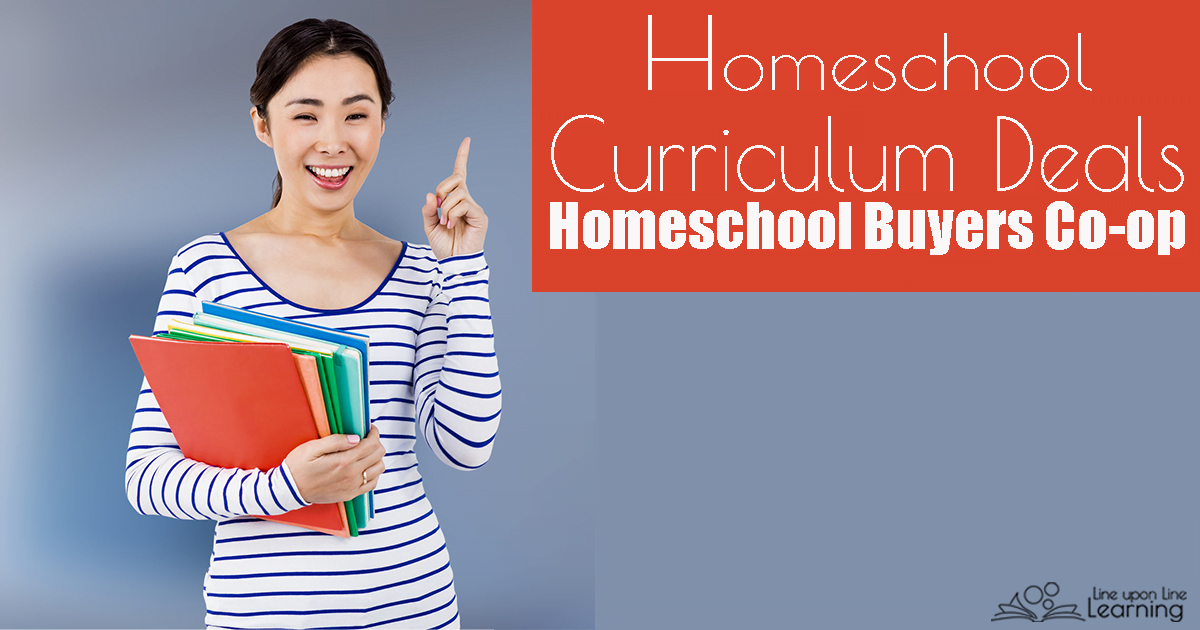 The Homeschool Buyer's Co-op is the first of my go-to places to get the best homeschool curriculum deals, including group buys on subscriptions, discounts on curriculum, and more.