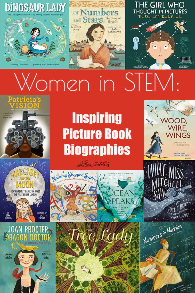 Approach science and history in these excellent women in STEM picture book biographies.